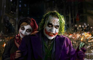 Joker and Harley Quinn Fan Art