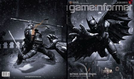 Batman Arkham Origins Game Informer