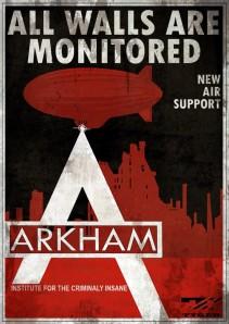 arkham poster